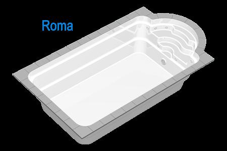 Inca de pe vremea romanilor, arhitectii si constructorii s-au straduit sa gaseasca o solutie comoda si durabila, pentru a putea satisface placerea de a inota,