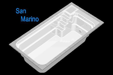 Piscina San Marino reprezinta mijlocul ideal de petrecere a timpului cu familia, avand avantajul de a putea fi amplasata in spatii restranse.